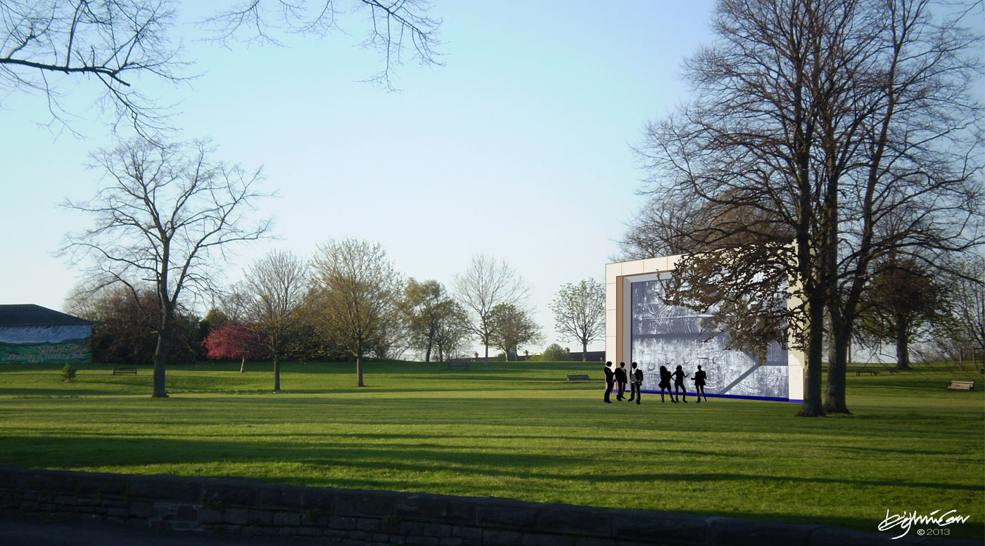 What to do with my Geoffrey Clarke sculpture? Maybe put it in the park so I can see it from my window …